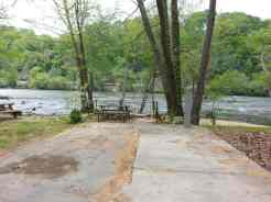 French Broad River Campground in Asheville North Carolina9